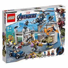 Конструктор LEGO Marvel Super heroes Битва на базе Мстителей (76131) от Будинок іграшок
