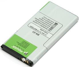 Акция на Аккумулятор PowerPlant Nokia BN-01 (X) (DV00DV6312) от Rozetka