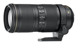 Акция на Объектив NIKON AF-S 70-200 mm f/4G ED VR (JAA815DA) от MOYO