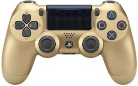 Акция на Беспроводной геймпад SONY Dualshock 4 V2 Gold для PS4 (9895558) от MOYO