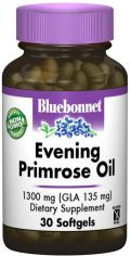 Жирные кислоты Bluebonnet Nutrition Evening Primose Oil 1300 мг 30 желатиновых капсул (743715009202) от Rozetka