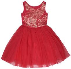 Платье фатиновое Zironka Elegant 38-8020-8 134 см Красное (ROZ6206118784) от Rozetka