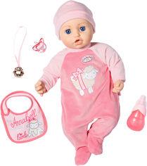 Акция на Интерактивная кукла Zapf Baby Annabell Моя маленькая принцесса 43 см с аксессуарами и озвучкой (794999) (4001167794999) от Rozetka