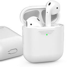 Классический Силиконовый чехол AhaStyle для Apple AirPods White (AHA-01020-WHT) от Rozetka