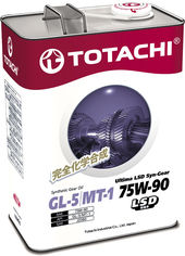 Трансмиссионное масло TOTACHI Signature Extra Hypoid Gear LSD Fully Syn GL-5/MT-1 75W-90 4 л (4562374691926) от Rozetka