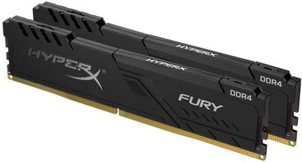 Акция на Оперативная память HyperX DDR4-3000 16384MB PC4-24000 (Kit of 2x8192) Fury Black (HX430C15FB3K2/16) от Rozetka