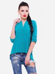 Блуза Fashion Up Michelle BZ-1456C 46 Изумрудная (2000000135557) от Rozetka