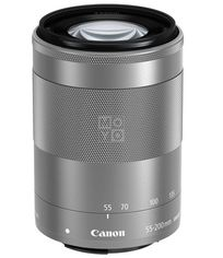 Объектив Canon EF-M 55-200 4.5-6.3 IS STM Silver (1122C005) от MOYO