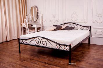 Двуспальная кровать Eagle Polo 160 x 200 Black (E1700) от Rozetka
