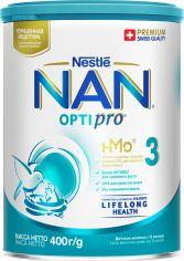 Упаковка детской смеси Nestle NAN 3 с 12 месяцев 400 г х 12 шт (7613032476182) от Rozetka