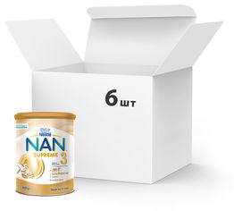 Акция на Упаковка сухой смеси Nan Supreme 3 с олигосахаридами с 12 месяцев 800 г х 6 шт (7613036951456) от Rozetka