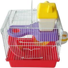 Клетка для грызунов ZooMax 27.5х20.5х25 см Бело-Красная (4820097808923) от Rozetka