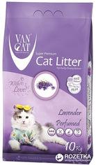 Наполнитель для кошачьего туалета Van Cat Super Premium Quality Lavender Бентонитовый комкующий 10 кг (12 л) (8699245856088) от Rozetka