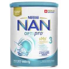 Упаковка детской смеси Nestle NAN Optirpo 3 с 12 месяцев 800 г х 6 шт (7613033358876) от Rozetka
