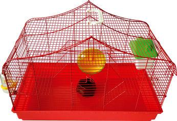 Акция на Клетка для грызунов ZooMax 58х32х12 см Красная (4820097808848) от Rozetka
