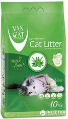 Наполнитель для кошачьего туалета Van Cat Super Premium Quality Aloe Vera Бентонитовый комкующий 10 кг (12 л) (8699245856262) от Rozetka