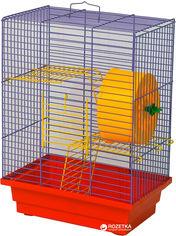 Акция на Клетка для грызунов Лорі Дом 32 х 28 х 18 см Красная (4823094302258) от Rozetka