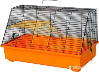 Клетка для грызунов Лорі Крыски 34 х 57 х 30 см Оранжевая (4823094302319) от Rozetka