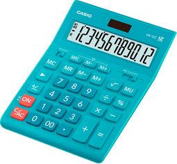 Акция на Калькулятор Casio 12 разрядный 155х209х34.5 Голубой (GR-12C-LB-W-EP) от Rozetka