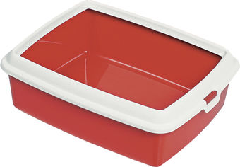 Акция на Туалет для котов MPS Spa Hydra Maxi 50x40x16.5 см Red (8022967014625) от Rozetka