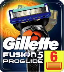 Сменные картриджи для бритья (Лезвия) Gillette Fusion5 Proglide 6 шт (7702018365937) от Rozetka