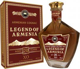 Акция на Бренди Легенда Армении 20 лет выдержки 0.5 л 40% (4850001922377) от Rozetka