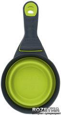 Акция на Большой мерный стакан на клипсе для собак Dexas Зеленый (dx30736) от Rozetka