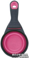 Акция на Средний мерный стакан на клипсе для собак Dexas Розовый (dx30730) от Rozetka