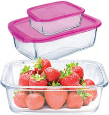 Акция на Набор контейнеров с сумкой Luminarc Keep'N Box 3 предмета (P9973) от Rozetka