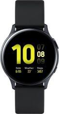 Акция на Смарт годинник Samsung Galaxy Watch Active 2 40mm Aluminium (SM-R830NZKASEK) Black от Територія твоєї техніки