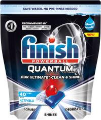 Акция на Таблетки для посудомоечных машин FINISH Quantum Ultimate 40 шт (5900627090307) от Rozetka