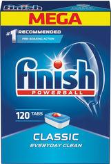 Таблетки для посудомоечных машин FINISH Classic 120 шт (5997321748153) от Rozetka