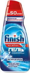 Гель для мытья посуды в посудомоечной машине FINISH Gel 1 л (4607109408346) от Rozetka