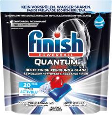 Таблетки для посудомоечных машин FINISH Quantum Ultimate 20 шт (4002448143093) от Rozetka