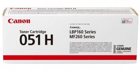 Акция на Картридж лазерный Canon 051H LBP162dw/MF269dw/267dw/264dw Black, 4100 стр (2169C002) от MOYO