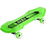 Акция на Скейтборд NEON Cruzer Зеленый (N100792) от Foxtrot