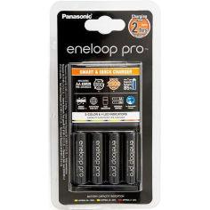 Зарядное устройство ENELOOP Panasonic Smart-Quick Charge + 4хAA 2500 mAh (K-KJ55HCD40E) от Foxtrot