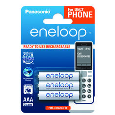 Акция на Аккумулятор Panasonic Eneloop AAA 750 mAh 3BP от MOYO