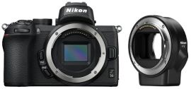 Фотоаппарат NIKON Z50 Body + FTZ Mount Adapter (VOA050K003) от MOYO
