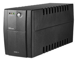 Акция на ИБП Trust Hexxon 600VA UPS Black (17681_TRUST) от MOYO