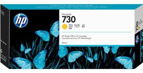 Акция на Картридж струйный HP 730 Yellow, 300 ml (P2V70A) от MOYO