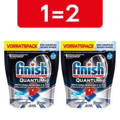 Акция на Таблетки для посудомоечных машин FINISH Quantum Ultimate 60 шт (4002448144595) от Rozetka