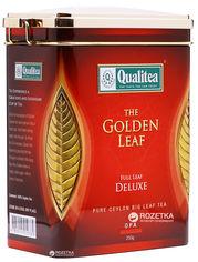 Чай черный Qualitea Цейлон Крупнолистовой 250 г (4791014005070) от Rozetka
