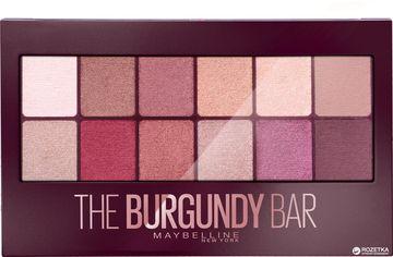 Палетка теней Maybelline New York The Burgundy bar оттенок Бургунди 9.6 г (3600531429911) от Rozetka
