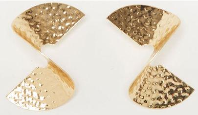 Серьги Pimkie pm05550060 Золотистые (SHEK2000000152912) от Rozetka