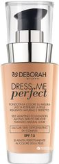 Тональная основа Deborah Dress me Perfect SPF 15 № 02 30 мл (8009518230109) от Rozetka