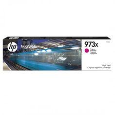 Акция на Картридж струйный HP No.973X PageWide Pro 452/477 Magenta, 7000 стр (F6T82AE) от MOYO