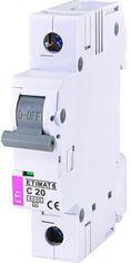 Автоматический  выключатель ETI ETIMAT 6 1p С 20А (6 kA) (2141517) от MOYO