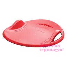 Санки-тарелка Plastkon Суперновая 60 красные для взрослых (41107883) от Будинок іграшок