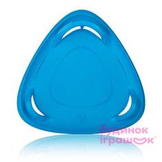 Санки-тарелка для взрослых Plastkon Метеор 60 синие (8595096938013) от Будинок іграшок
